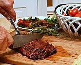 Easy-Easy Marinated Flank Steak