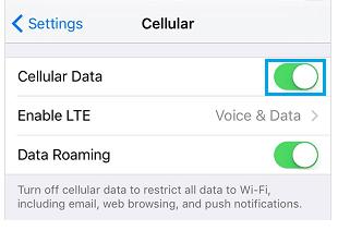 Cara Mudah Melacak Penggunaan Data Seluler di iPhone 7