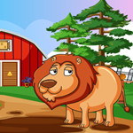 Games4King Lion Rescue Wa…