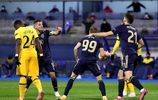 ملخص واهداف مباراة توتنهام ودينامو زغرب (0-3) الدوري الاوروبي