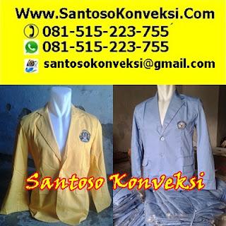 Baju Pakaian Seragam Jas Almamater Siswa Sekolah