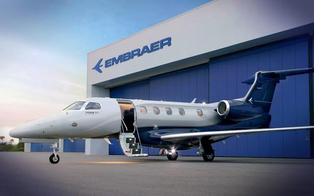 Embraer EMB-505 Phenom 300, impedida de voar por recall da fabricante