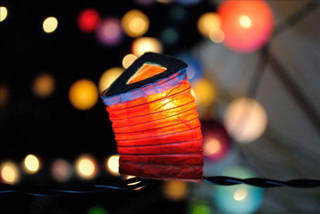 lantern and bokeh