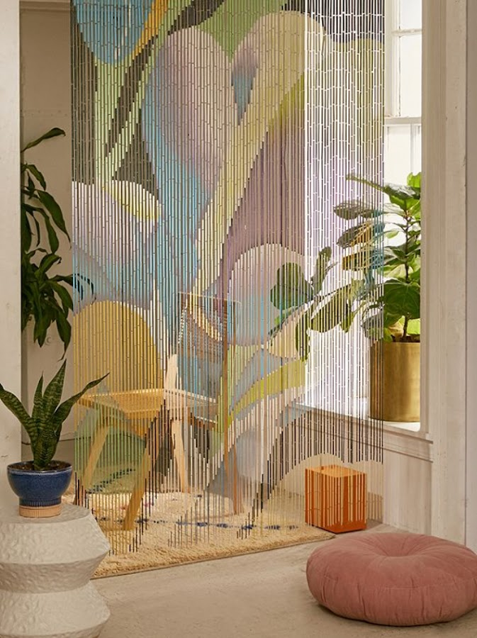 Las cortinas de cuentas vuelven a ser tendencia
