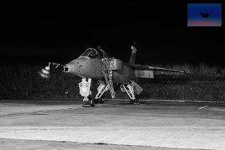 SEPECAT Jaguar XZ117 bomber ground attack Cosford