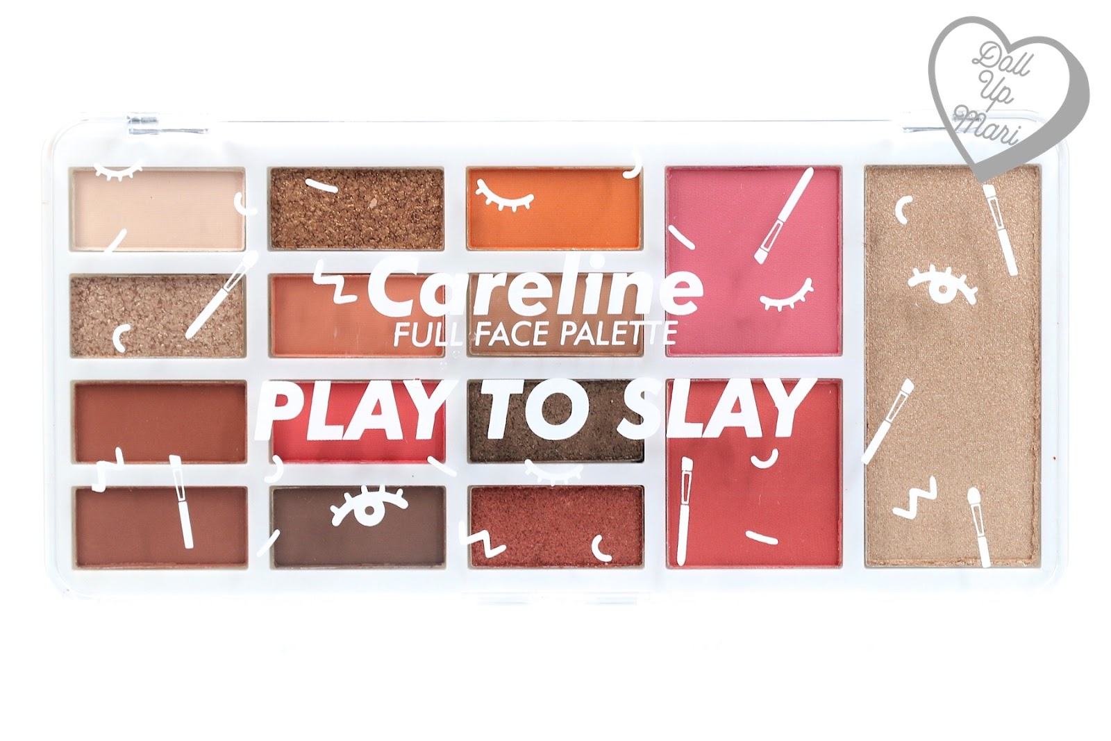 Careline Play To Slay Palette