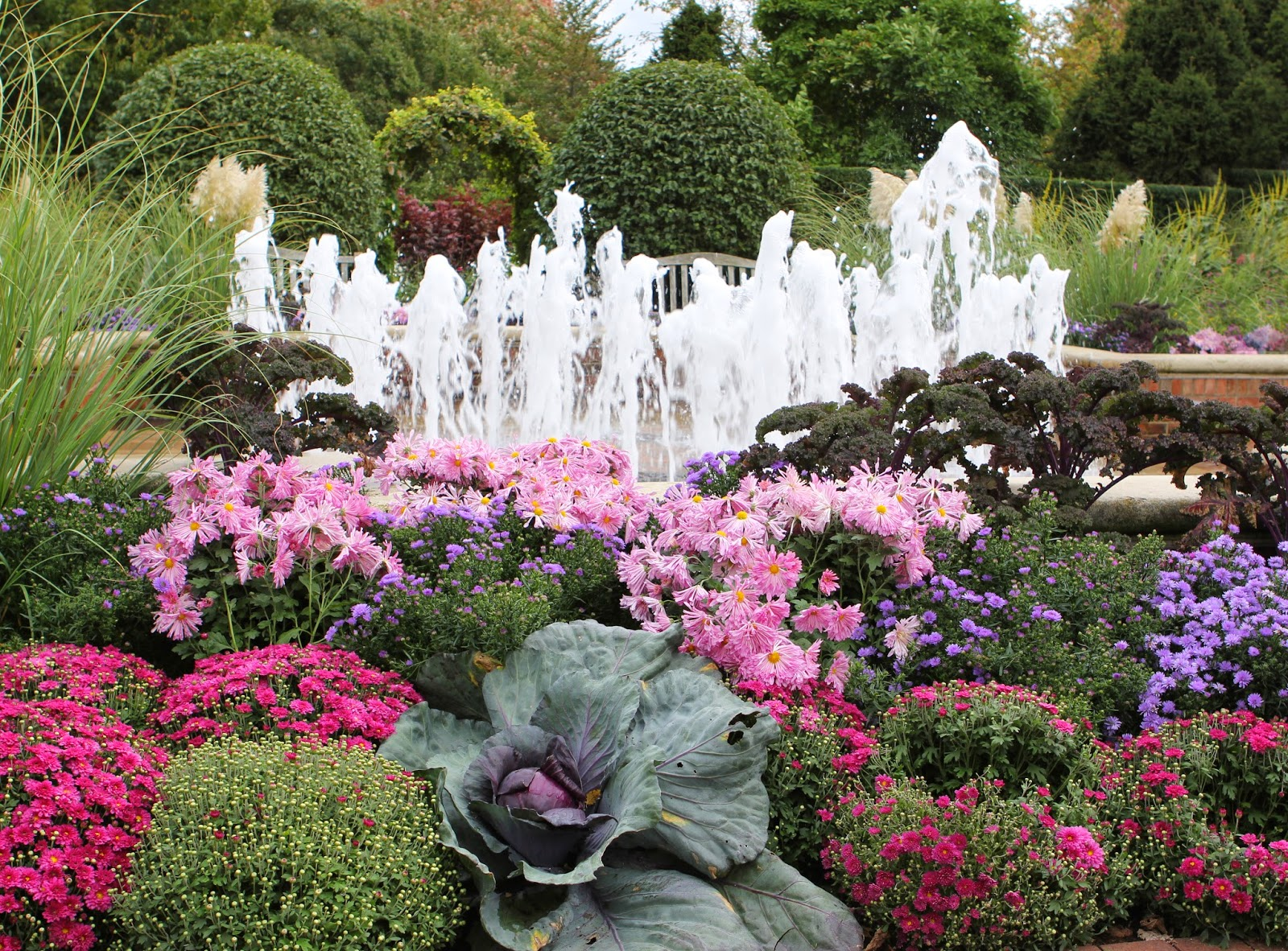 Garden Chicago: Romancing The Home: Fall Color At The Chicago Botanic Gardens