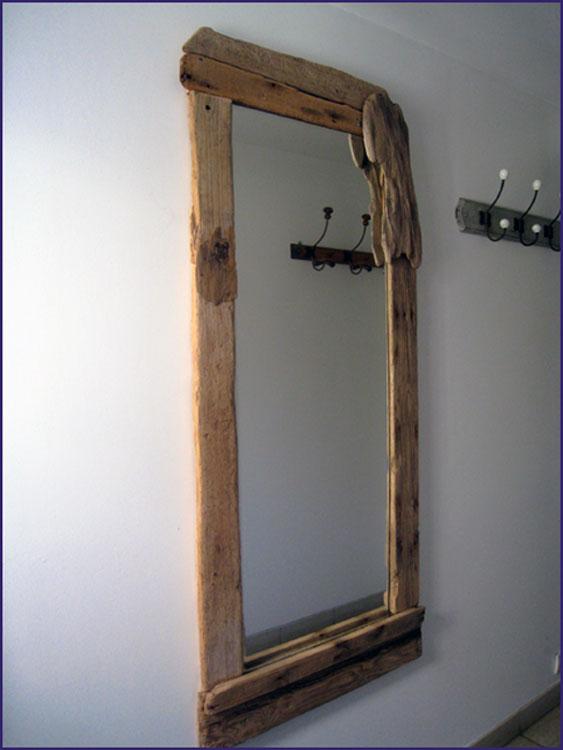 bois flott bricolage recup recyclage deco marine le blog de recup o bois flott miroir. Black Bedroom Furniture Sets. Home Design Ideas