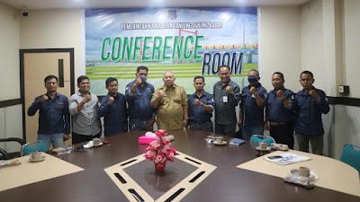 Bupati Terima Audiensi Forum Jurnalis Tanjung Jabung Barat