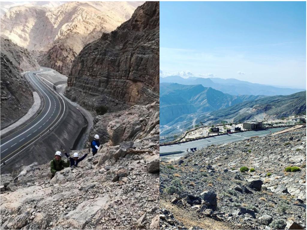 Jebel Jais -Roads