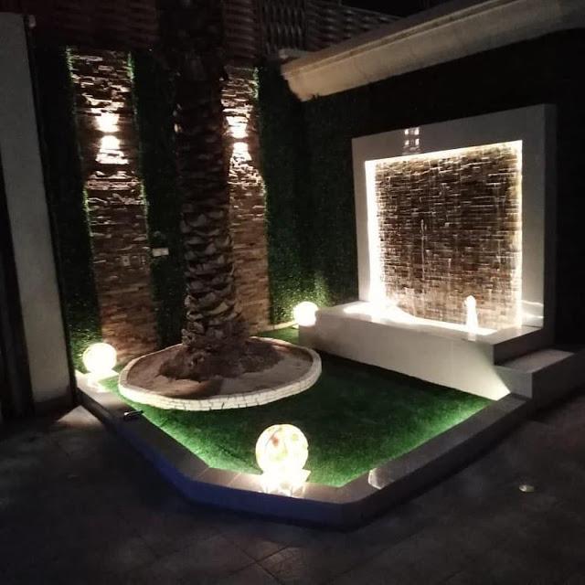 شركة تركيب عشب صناعي بالبكيرية تصميم جلسات حدائق بالبكيرية