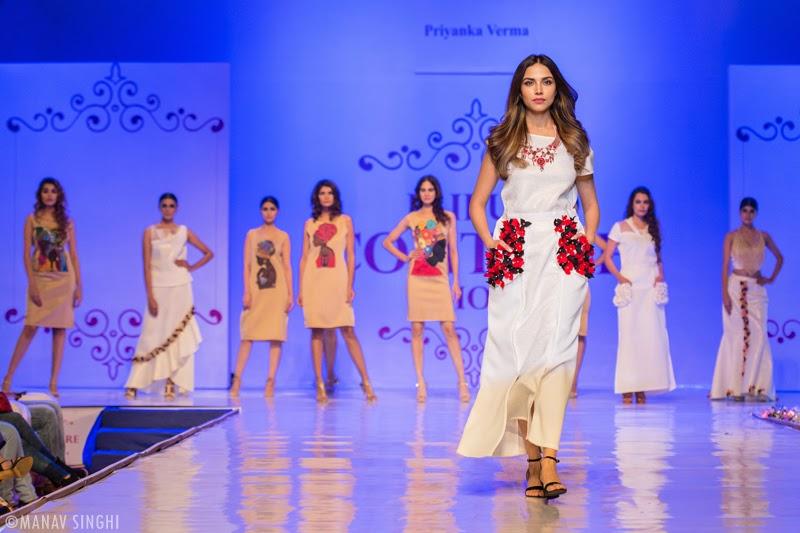 For Designer Priyanka Verma at Jaipur Couture Show.