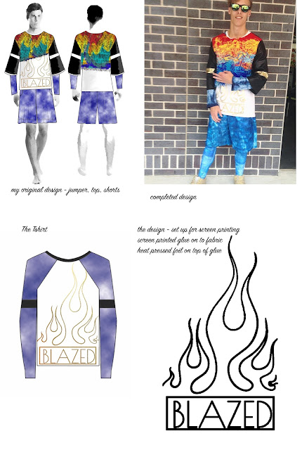 Blazed tee, lesimplyclassy, non existent the label, designer, sydney streetwear