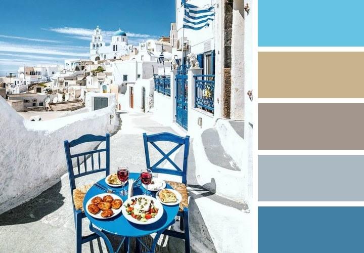 Greece Color Schemes