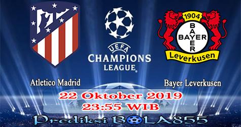 Prediksi Bola855 Atletico Madrid vs Bayer Leverkusen 22 Oktober 2019