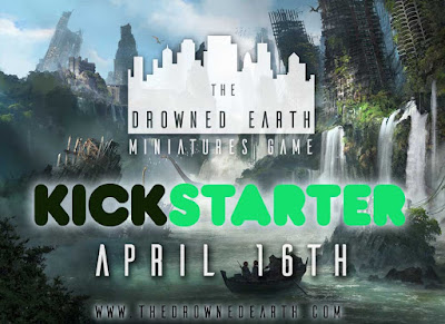 The Drowned Earth - Available on Kickstarter now!
