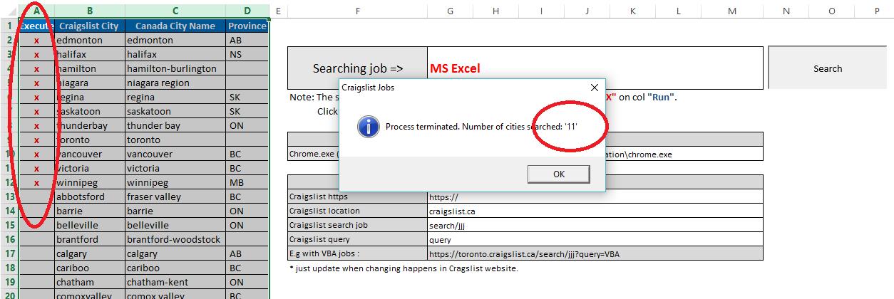 Craigslist N Ms >> Excel Vba Easy And Fast Ms Excel To Seek Jobs In