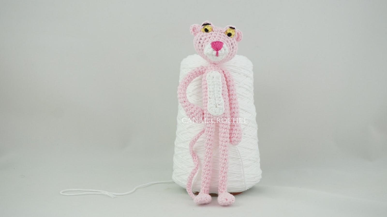 CANAL CROCHET: La Pantera rosa amigurumi tutorial