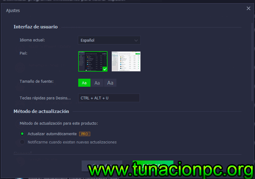 IObit Uninstaller Pro con Portable