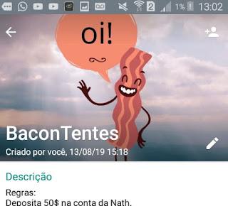 BaconTentes - Grupo de Amizade WhatsApp