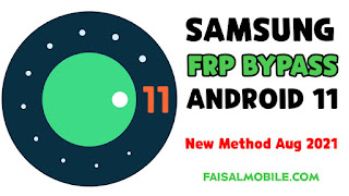 Samsung Android 11 FRP Bypass Aug 2021 New Method First Time