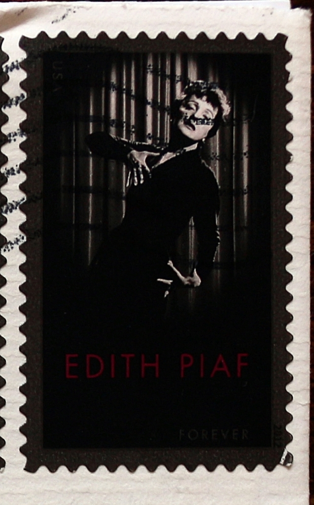 Mail Adventures Women On Stamps Edith Piaf