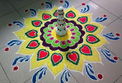 Best Pongal Rangoli Design