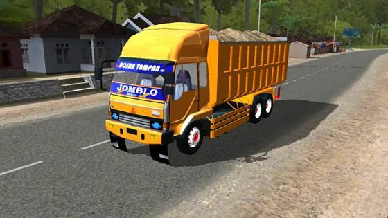 Mod Dump Truck Fuso Fighter