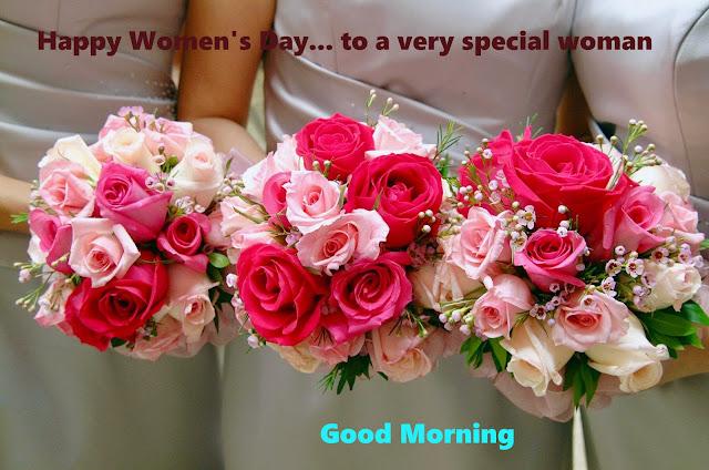 Good Morning Happy Women Day.