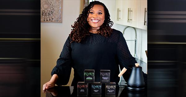 Niya Vatel, founder and CEO of Tea and I® tea company