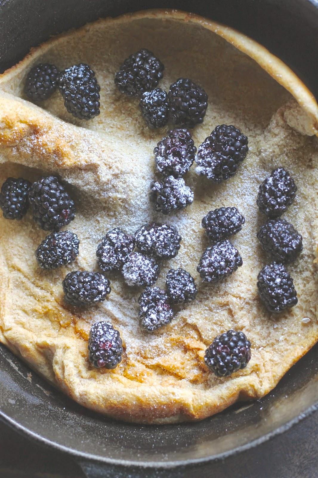 Where Your Treasure Is Whole Wheat German Pancake