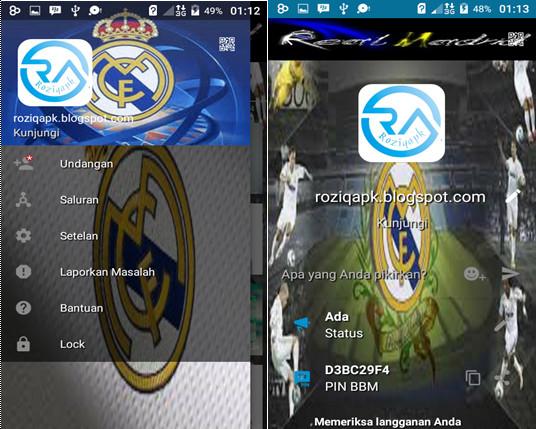 Free Download BBM MOD Los Blancos Terbaru 2016