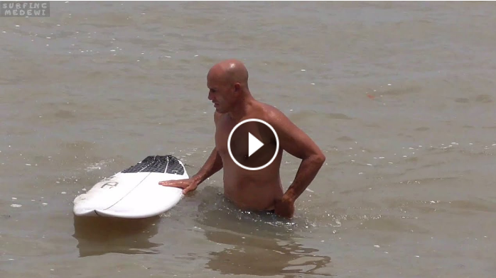 Kelly Slater Surfing Medewi West Coast - Bali Indonesia