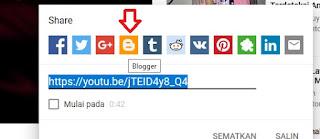 Cara Menyisipkan Video Youtube di Postingan Blog Dengan Mudah ( Bagian Dua )