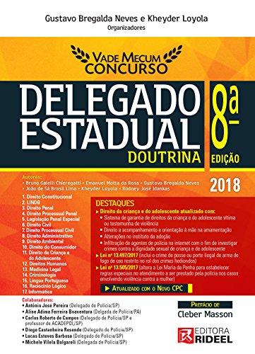 Vade Mecum Concurso – Delegado Estadual - Gustavo Bregalda Neves