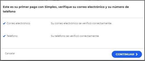 Confirmar número teléfono y email en OKEX para comprar HYCON por Bitcoin
