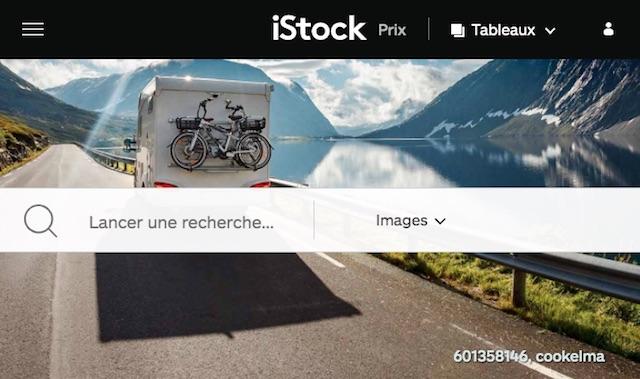 موقع لبيع الصور عبر الإنترنت: istock