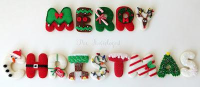Merry Christmas Letter Design
