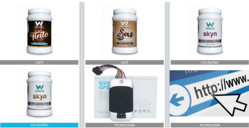 productos fisicos winner