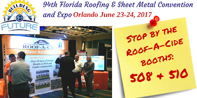 Roof-A-Cide at the 2017 FRSA Expo