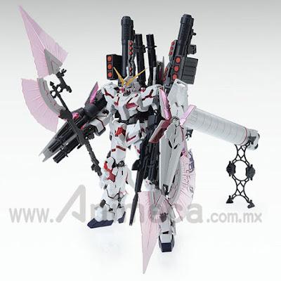 Full Armor Unicorn Gundam RX-0 Red Color Ver. Master Grade (MG) 1/100 Model Kit Mobile Suit Gundam Unicorn