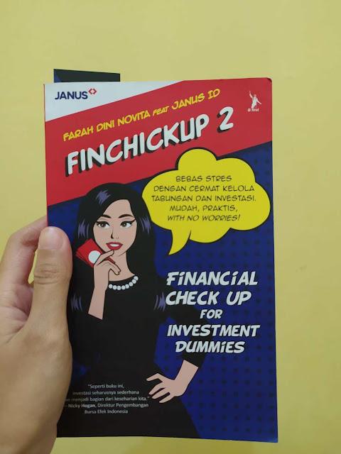 Buku Finchickup 2 Farah Dini Novita