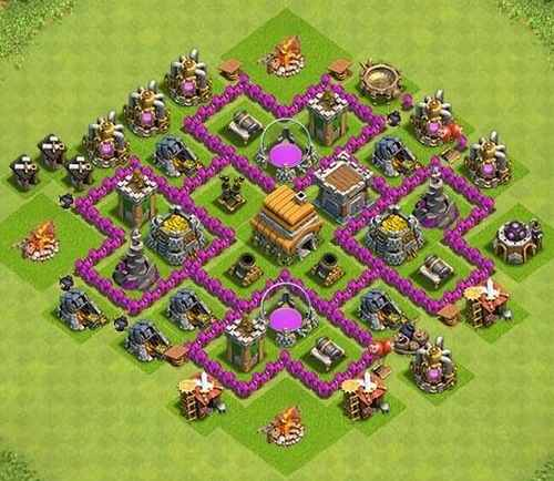 Base Coc Th 6 Labirin 9