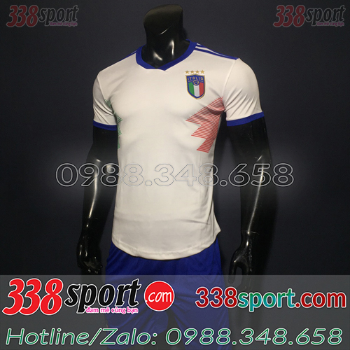 Áo Đội Tuyển Ý Trắng 2019 2020 Sân Nhà