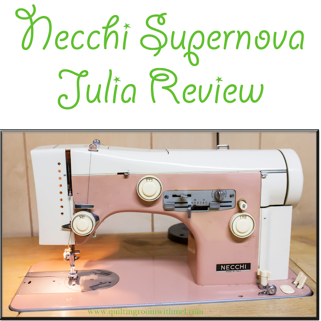necchi supernova julia review and demonstration