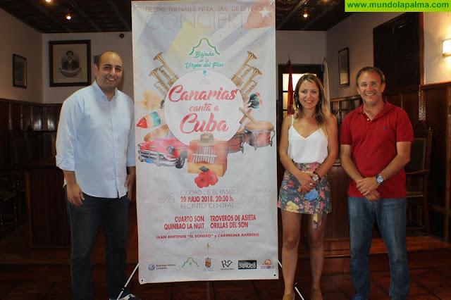 Presentado el cartel del espectáculo 'Canarias canta a Cuba' que trae a El Paso lo mejor de la música tradicional cubana que se hace en el Archipiélago