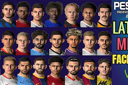 New Look Facepack V5 Season 2021 (500+ Faces) - PES 2017