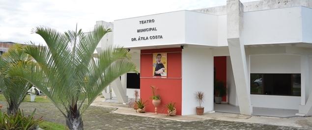 Teatro Municipal Dr. Átila Costa terá final de semana com danças com ingressos até 20 reais
