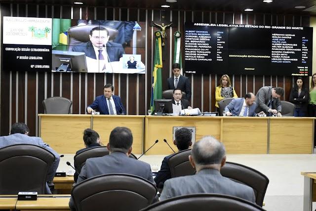 DEPUTADOS APROVAM PROEDI EM CONVOCAÇÃO EXTRAORDINÁRIA