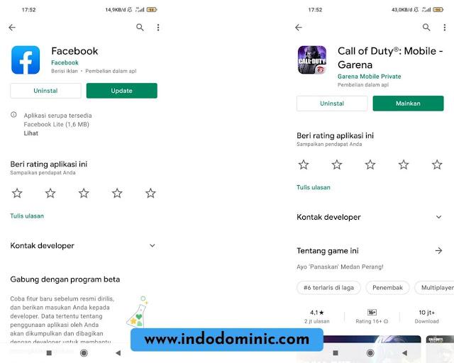 Update Aplikasi Login FB dan CODM ke Terbaru